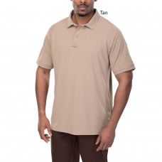Vertx VTX4000TP Tan Coldblack Action Polo Short Sleeve