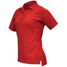 Vertx VTX4010RP Red ColdBlack Womens Action Polo